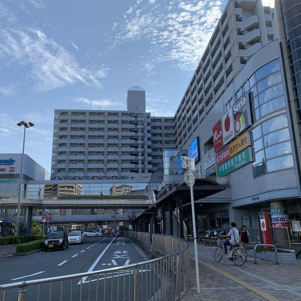 河内松原駅 駅前ロータリー