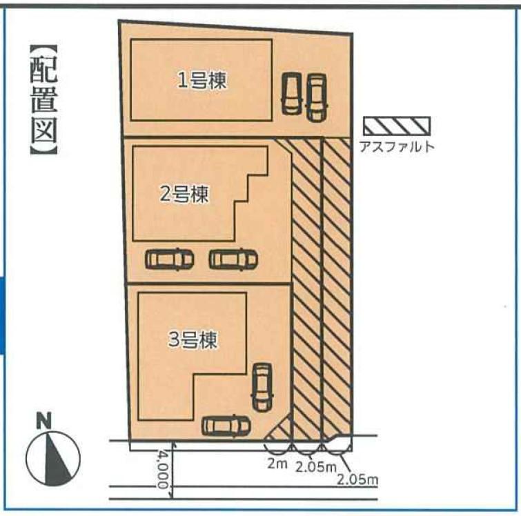 グラファーレ藤井寺市惣社3棟