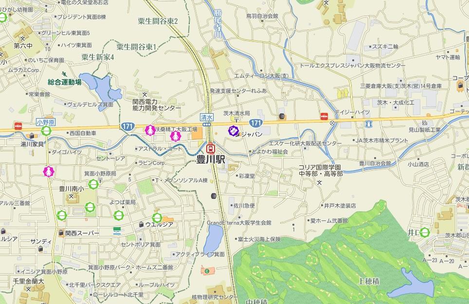 豊川エリアの犯罪発生件数
